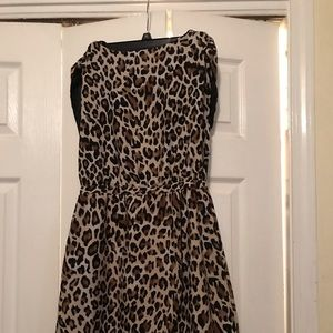 H&M Cheetah print dress